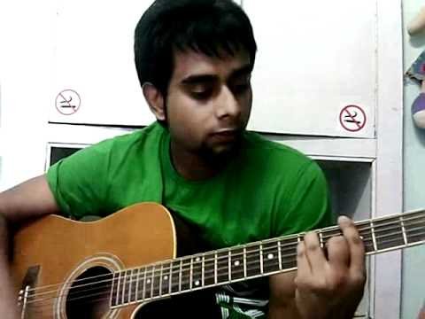 Woh dekhne mein (cover) from london paris new york on guitar