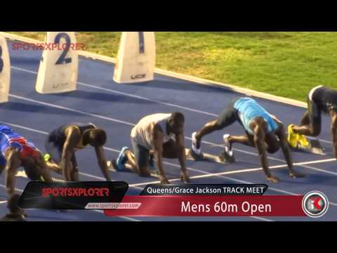 Nesta Carter wins season opener (60m) - 2014 Queens/Grace Jackson meet - SportsXplorer