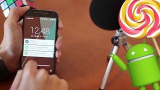 Android Lollipop 5.0.2 en Moto G 2014 | Novedades y primeras impresiones