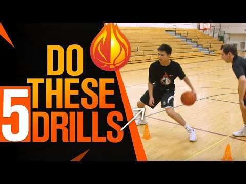 5 ADVANCED Ball Handling Drills For Point Guards