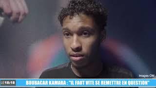 """OM - Saint-Étienne : """"Il faut vite se remettre en question"""" (Kamara)"""