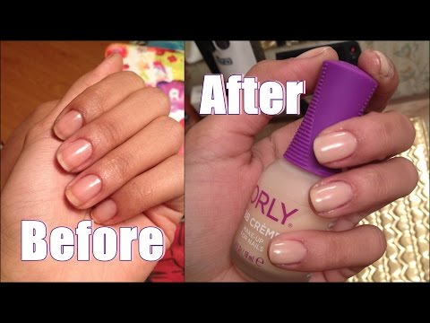 Makeup for Nails? Orly BB Creme Makeup For Nails Demo