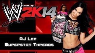 WWE 2K14 - AJ Lee Superstar Threads (3 Giysileri)