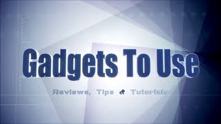 Gadgets To Use Channel Intro - We Provide Reviews, Tips and Answers To User Queries thumbnail