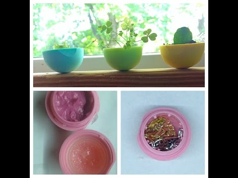 DIY: 3 ways to reuse your EOS lip balm container