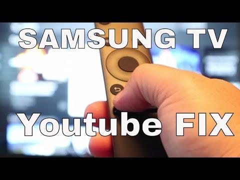Samsung Smart TV - Youtube App Fix