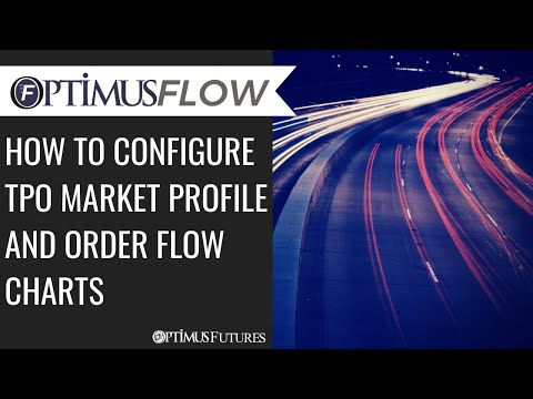Optimus Flow – How to Configure TPO Market Profile and Order Flow Charts
