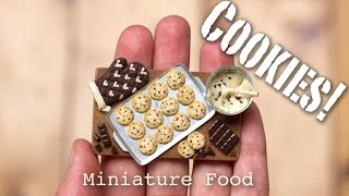 Miniature Cookies Tutorial // Fimo Foods, Polymer Clay Sculptures