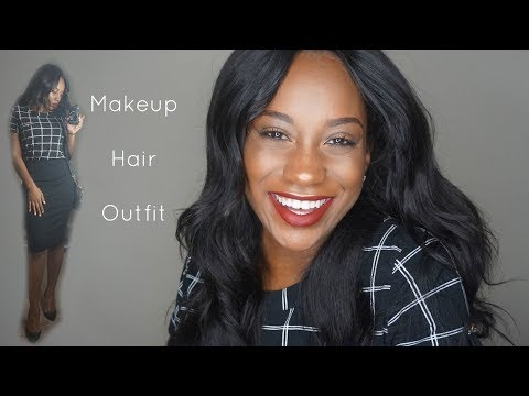 3 in 1 GRWM Makeup Hair + Outfit   Networking Event   THE LEGAL TEA