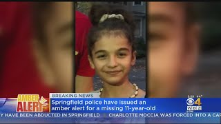 Police Issue Amber Alert For Missing 11-Year-Old Girl