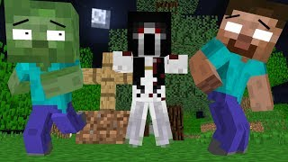 Monster School : SLENDRINA SCARRY  - Minecraft Animation