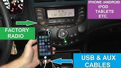 How To Add USB and Aux Inputs To Your Factory Car Radio