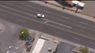 Phoenix police chase:The pursuit begins