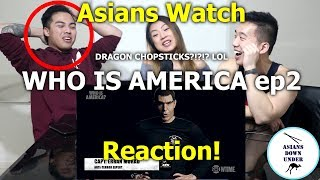 Asians Watch WHO IS AMERICA ft. Jason Spencer Ep2   Reaction - Australian Asians