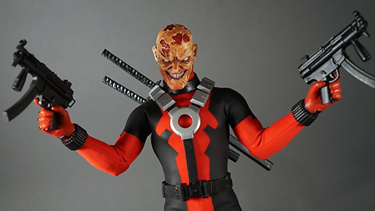 """1//6th red masks model For 12/"""" action Figure doll"""