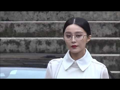 BINGBING @ Paris Fashion Week 1 october 2017  Givenchy PFW
