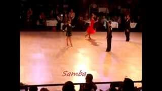 Phil and Flore dancesport competition (Flore Merlier & Philippe Berne)