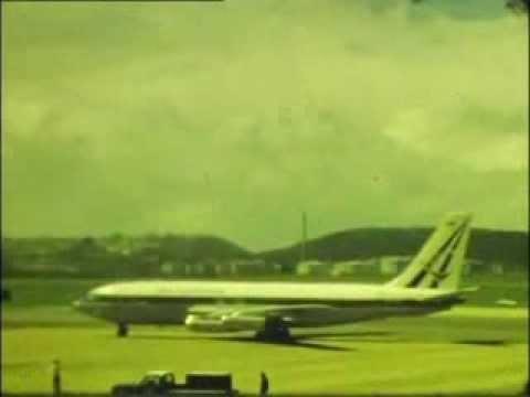Air Rhodesia Boeing 720 - Durban's Louis Botha Airport c1973/4