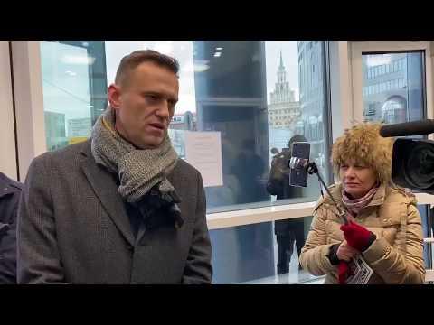 Навальный :интервью каналу  Россия -1(о Аскер-Заде)