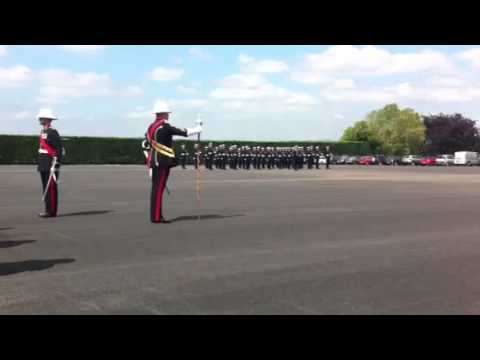 153 Troop King's Squad Pass Out Parade - CTCRM Lympstone Royal Marines