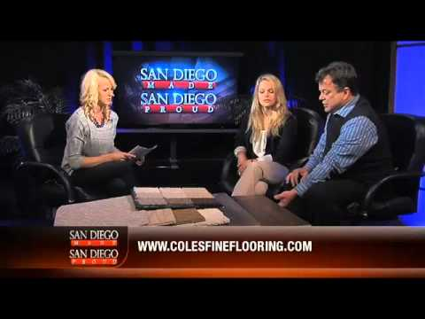 Steve And Lauren Coles Interview For Coles Fine Flooring On San Diego Made    San Diego Proud