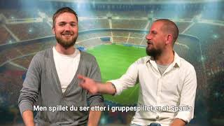 Fotball-VM 2018 – Norgekasino TV – Spania VM-tips
