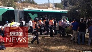 Two Israelis killed in Jerusalem attacks - BBC News