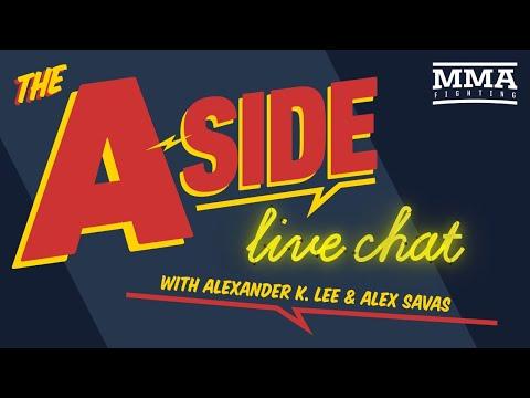 The A-Side Live Chat: Miocic vs. Ngannou 2, Derek Brunson & Kevin Holland's Futures, UFC 260, More