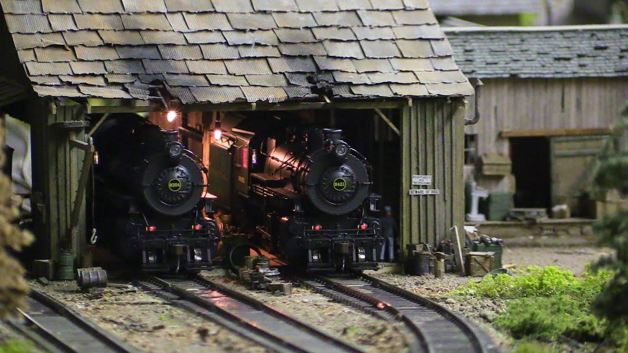 Pennsy Layout Part 39 Steam Engine Repair Shop
