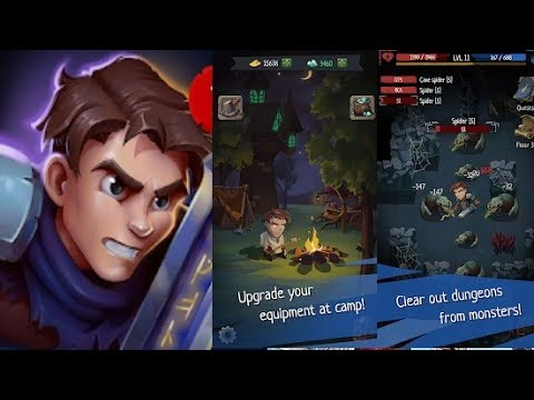 Roguelike RPG In Dungeon - Order Of Fate Offline - Gameplay / Mobile Game