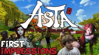 "ASTA: The War Of Tears And Winds First Impressions ""Is It Worth Playing?"""