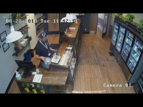 Stranger Zone - Security Camera Captures Eerie Activity at Oregon Pot Shop