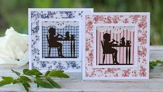 Me and Teddy - Framed Cards