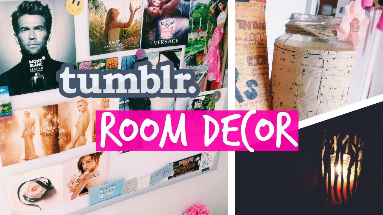 DIY Tumblr Room Decor  Music Jar  Forest Candle
