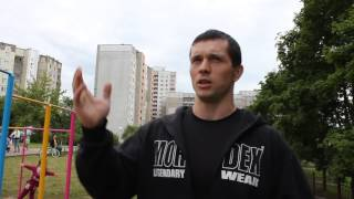 Качок 96 кг порвал именитых воркаутеров (И.Бадургова, И.Ковтуна) на турнике? 120 сек.