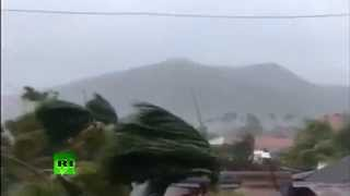 Video: Super typhoon hits Philippines with all-time record winds