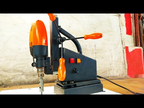 Making magnetic drill from the microwave
