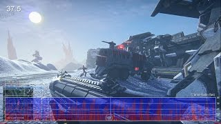 Planetside 2 Beta PS4 Gameplay Frame-Rate Test
