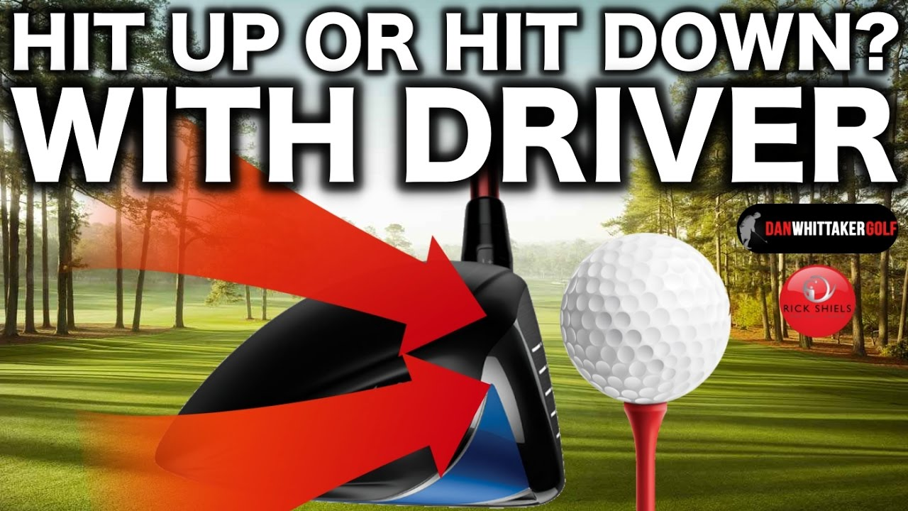 Do pro golfers hit up with their driver Should the average golfer