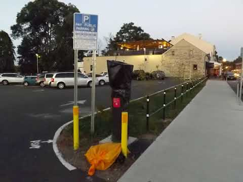 Kingston mayor Steve Noble discusses new parking kiosks