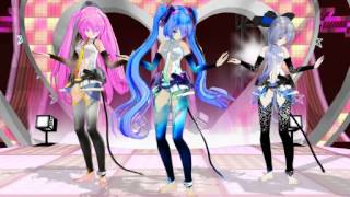 MMD Electrika - TDA girls