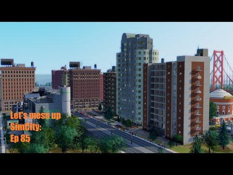 Let's mess up SimCity: Ep 85: Unwelcome medium wealth