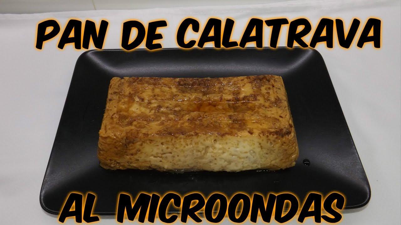 Como Hacer Pan De Calatrava Al Microondas Cocina Con Pilar Youtube