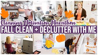 *NEW* FALL CLEAN + DECLUTTER WITH ME | MESSY HOUSE TRANSFORMATION CLEANING MOTIVATION | Brianna K