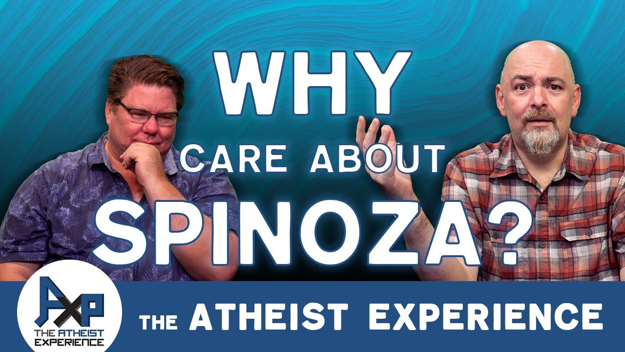 EINSTEIN Believed in Spinoza's God, Why Don't YOU? | Michael-CA | The Atheist Experience 24.27