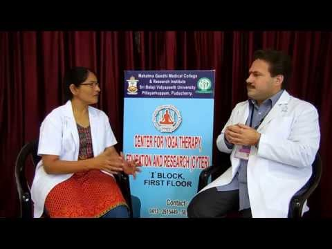 Dr Ananda and Dr Meena discuss Yoga therapy