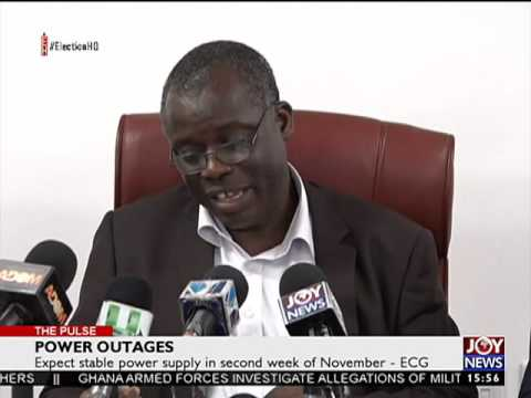 Power Outages - The Pulse on Joy News (27-10-16)