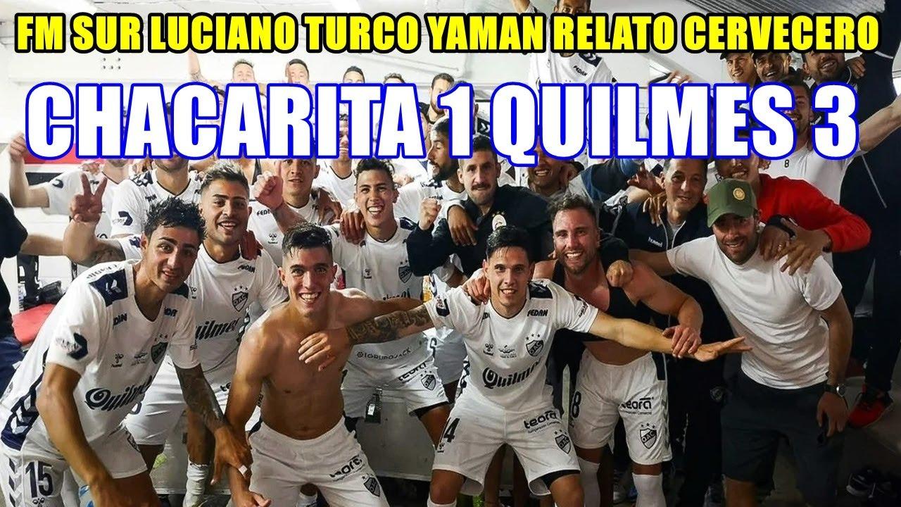 LUCIANO TURCO YAMAN FM SUR 88.9 RELATO CERVECERO CHACARITA 1 QUILMES 3