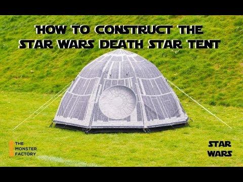 0 - Ein Zelt im Look des Todessterns