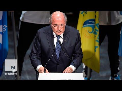 FIFA President Sepp Blatter addressed corruption scandal | Mashable
